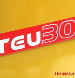 Xe nâng TEU nhập khẩu – chất lượng đẳng cấp
