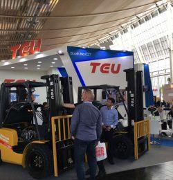 Các sự kiện triển lãm xe nâng TEU năm 2018