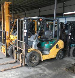 Thanh lý xe nâng nhập khẩu tại Hà Nội